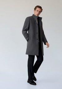 Mango - FUNNEL - Classic coat - grau - 1