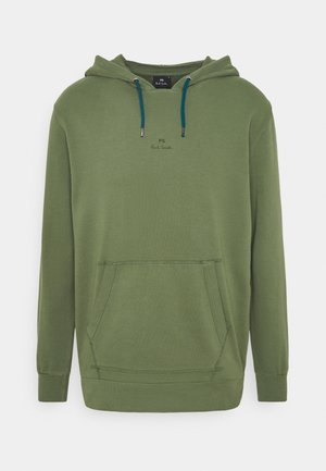 MENS HOODED - Sweat à capuche - olive