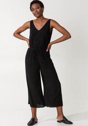 ELSIE  - Trousers - black