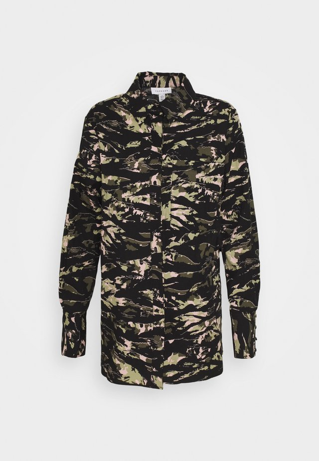 OVERSIZED CAMO BLOUSE - Bluzka - multi
