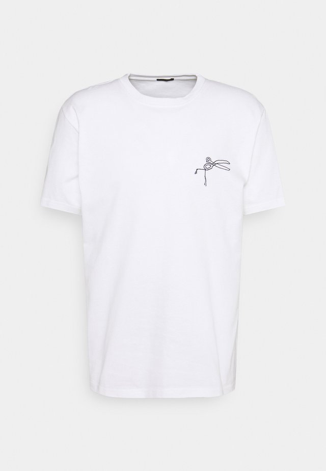 THAMES TEE - T-shirt con stampa - white