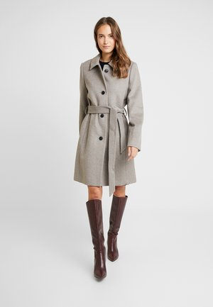CHECK COAT - Kåpe / frakk - light taupe