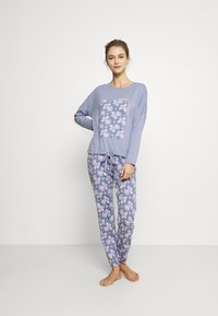 Women Secret - LONG SLEEVES LONG PANT - Pyžamová sada - blues - 1