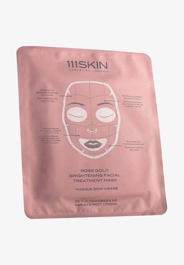 111SKIN MASKE ROSE GOLD BRIGHTENING FACIAL TREATMENT MASK - Face mask - -