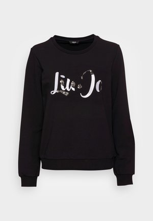 FELPA CHIUSA - Sweatshirt - nero/stone