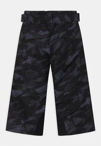 Ziener - ARISU UNISEX - Snow pants - black mountain - 2