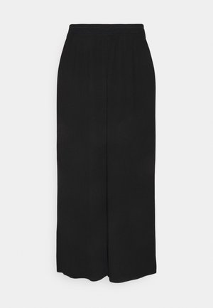 ONLMARIN PLISSE CULOTTE - Bukse - black