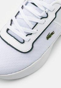 Lacoste - COURT DRIVE - Baskets basses - white/dark green - 5