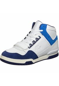 Lacoste LIVE - Sneakers high - white/blue - 2