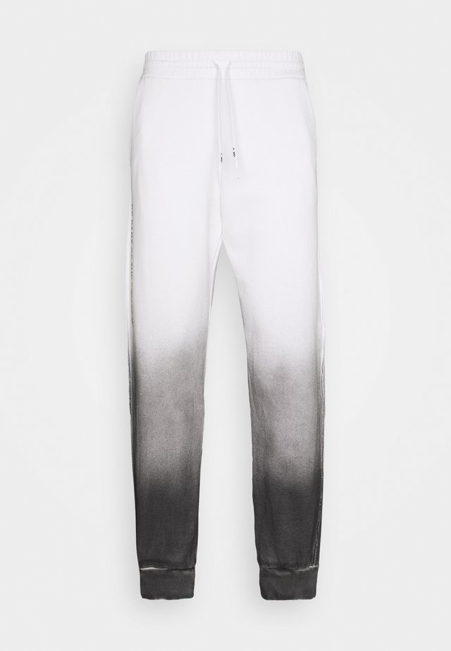 Joggebukse - white/black