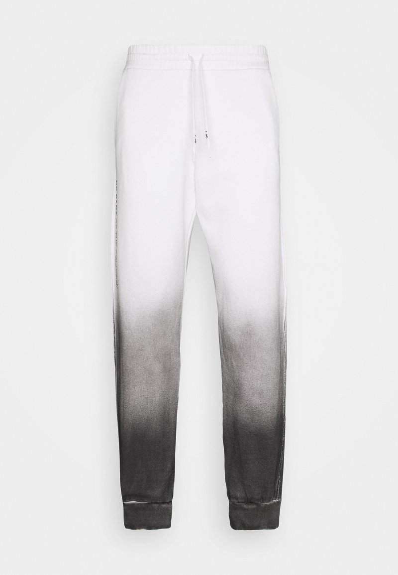 F_WD - Tracksuit bottoms - white/black