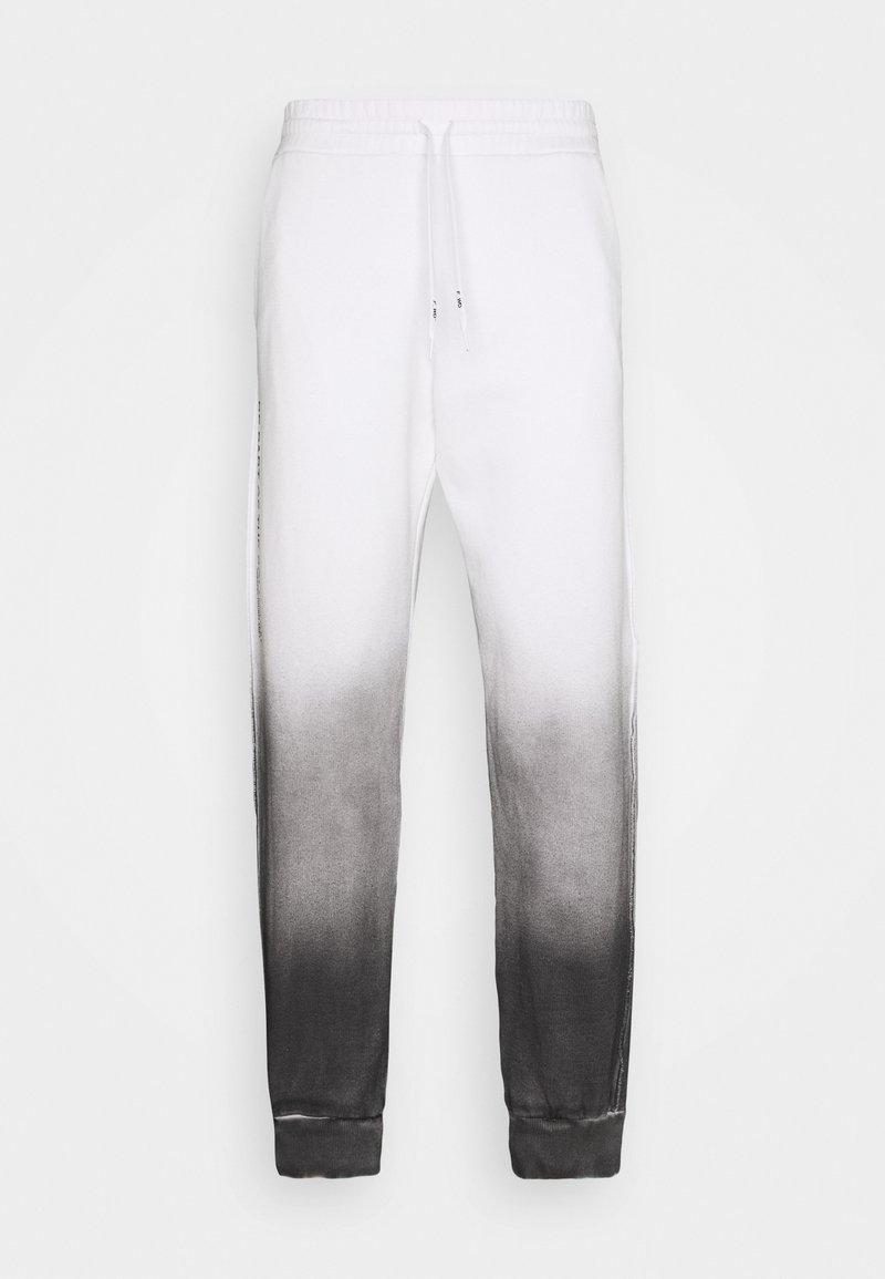 F_WD - Teplákové kalhoty - white/black