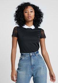 Morgan - DRAGA - Print T-shirt - noir - 0