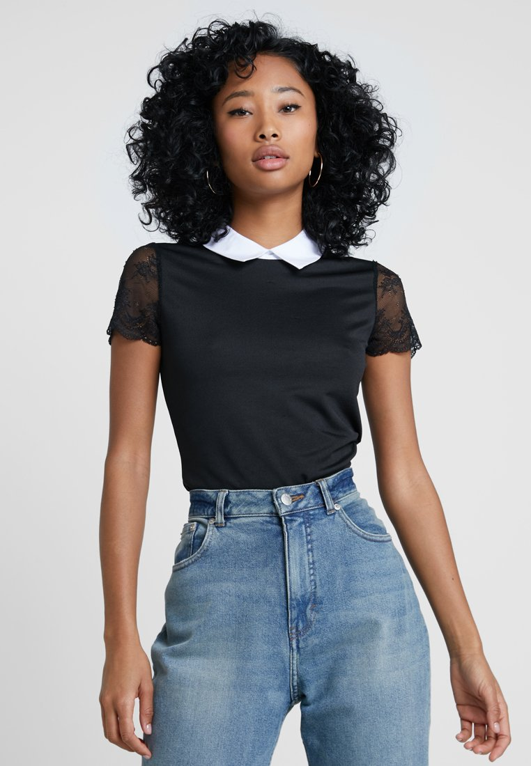 Morgan - DRAGA - Print T-shirt - noir