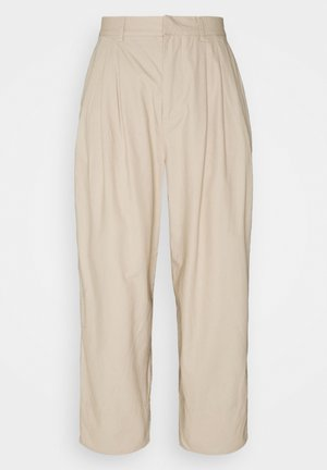 OBJNANCY PANTS - Trousers - humus