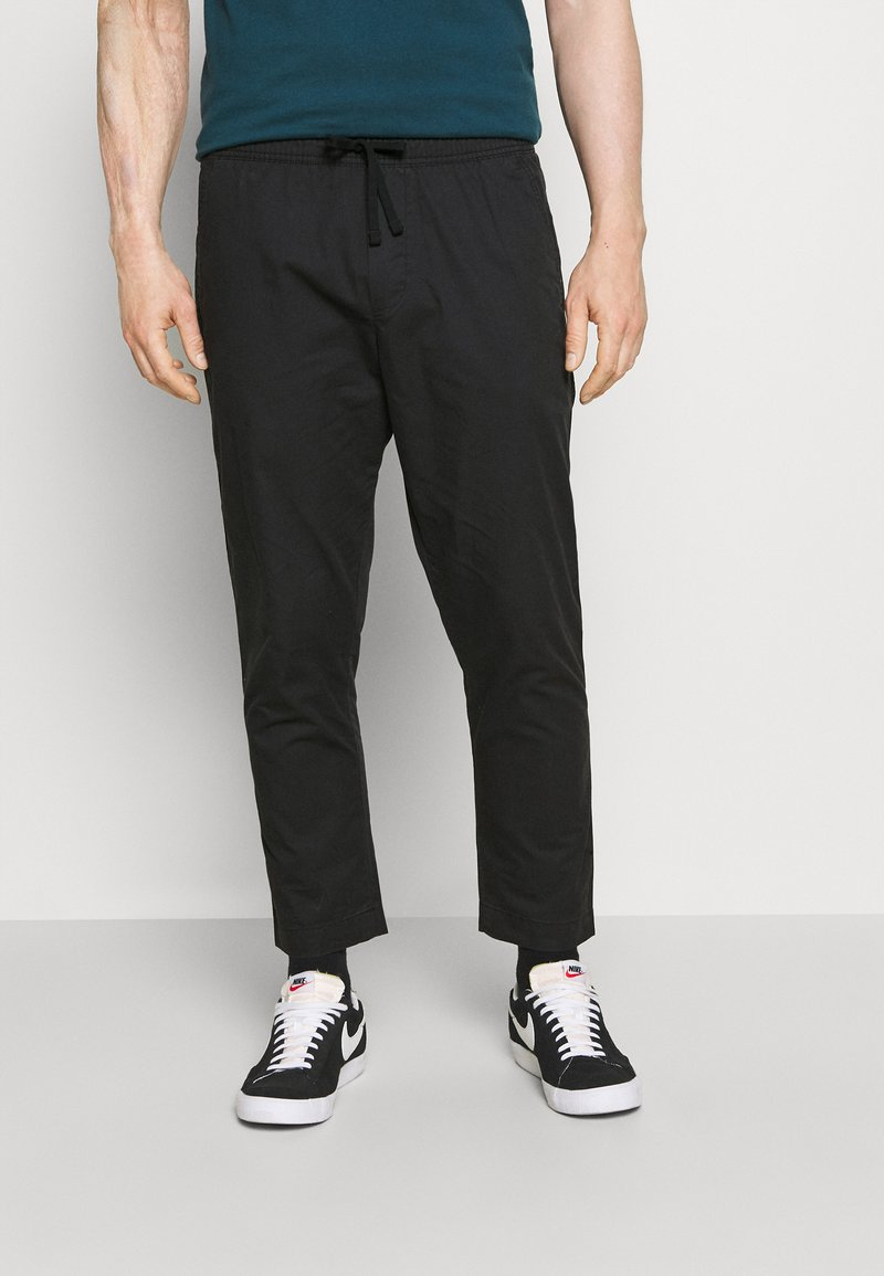 GAP - EASY PANT - Spodnie materiałowe - moonless night