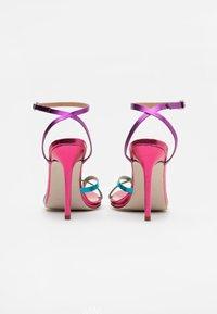 BEBO - TREVIA - Sandaler med høye hæler - pink/multicolor - 3