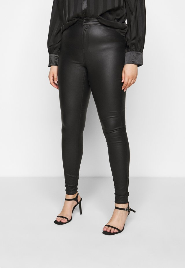 VMLORA COAT PANTS - Jeans Skinny Fit - black