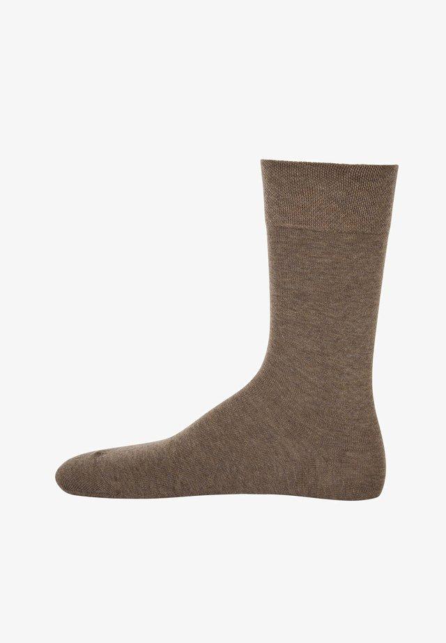 1 PAAR  - Socks - sahara