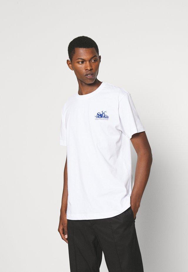 BEAT SUNSET PULPO - T-shirt print - white