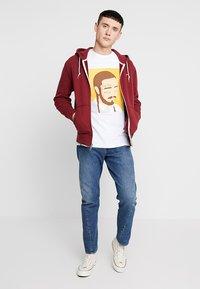 Levi's® - ORIGINAL ZIPUP HOODIE - veste en sweat zippée - warm cabernet - 1