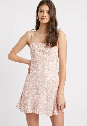 ROBE MINI - Shirt dress - g rose