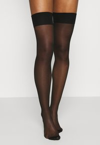 Ann Summers - PLAIN TOP SEAMED STOCKINGS BLACK - Socks - black - 1