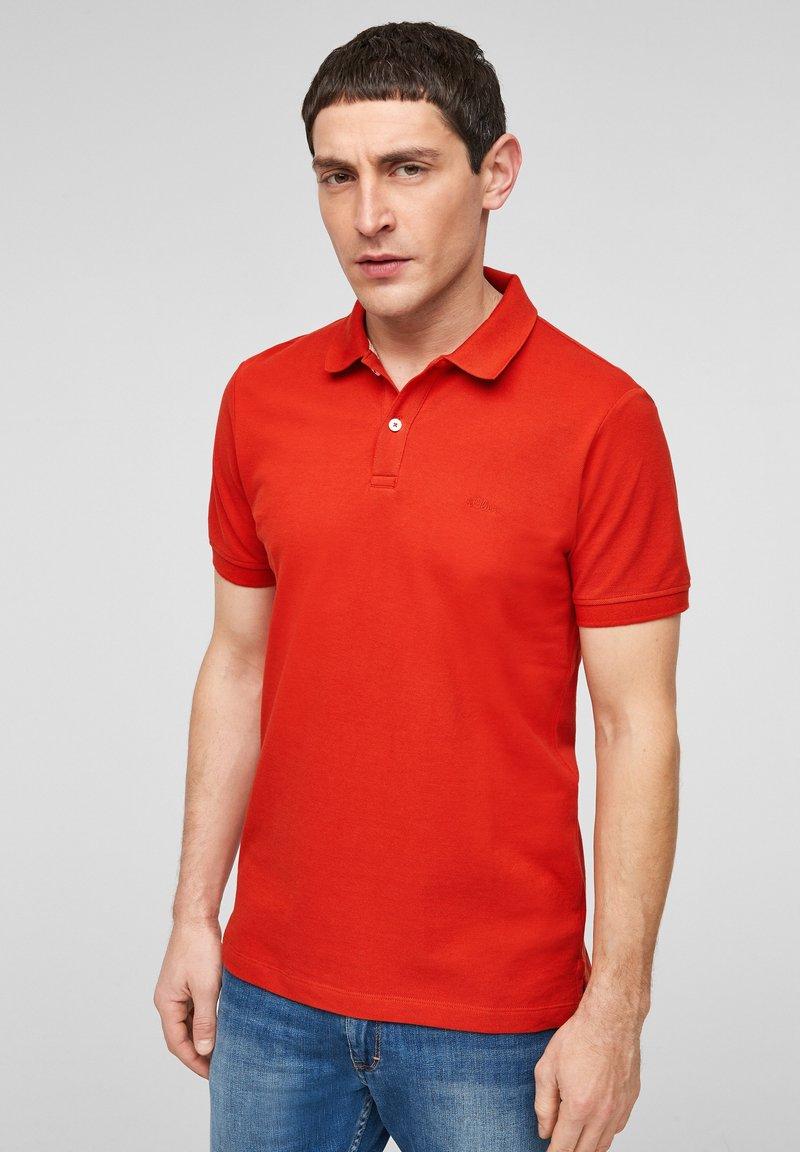 s.Oliver - Polo shirt - orange