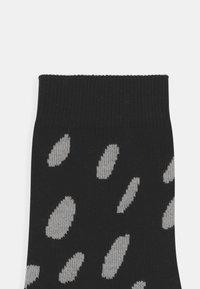 Papu - 2 PACK UNISEX - Ponožky - black - 2