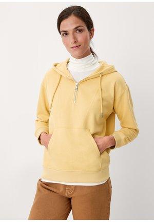 Sweat à capuche - buttercup yellow
