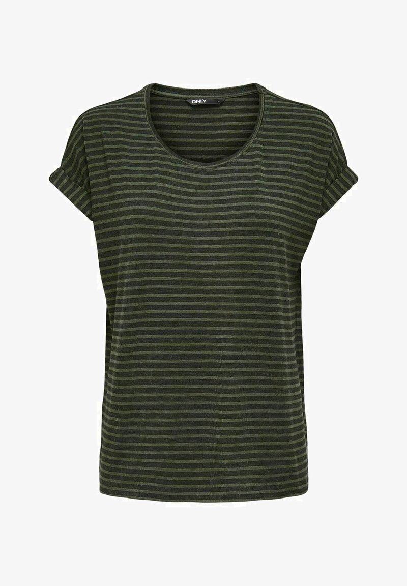 ONLY - Print T-shirt - deep lichen green