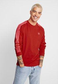 adidas Originals - Långärmad tröja - scarlet - 3