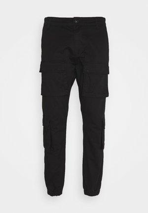 LYON PANTS UNISEX - Pantaloni cargo - black