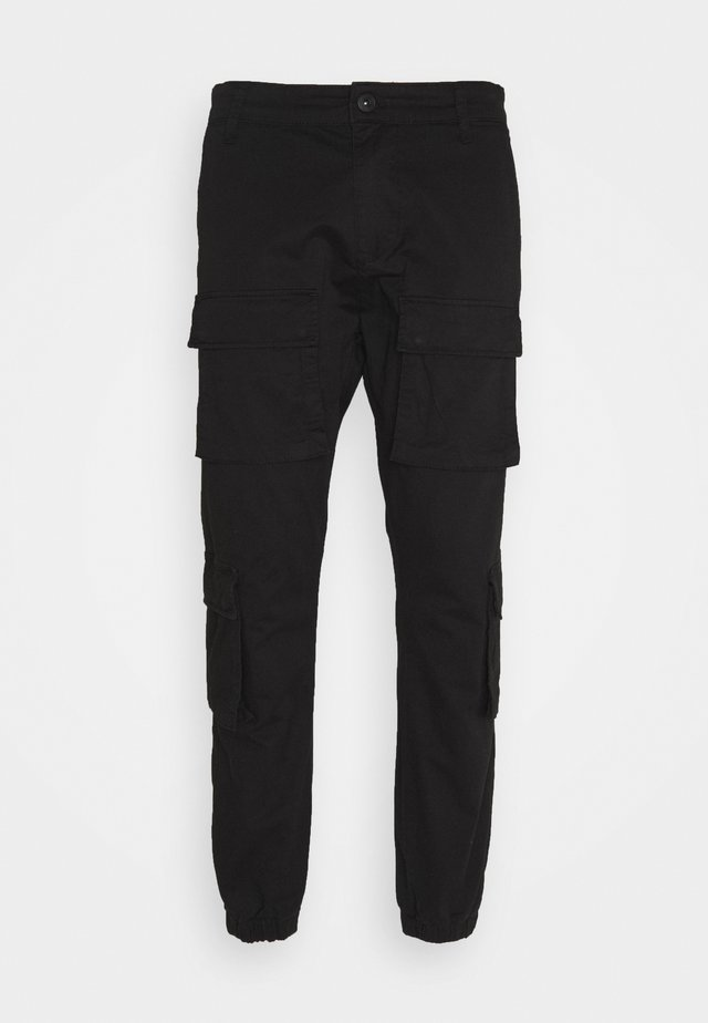 LYON PANTS UNISEX - Cargobroek - black