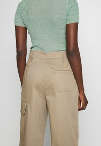 Sportmax Code - JANGY - Kalhoty - khaki - 4