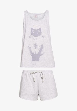 SET - Pyjamas - medium grey