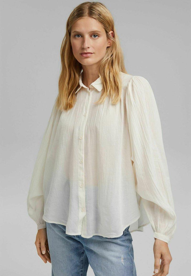 Esprit - Button-down blouse - off white