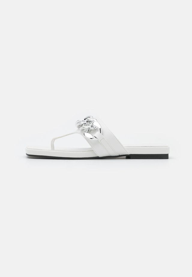 PROMISE CHAIN TOE POST  - Tongs - white
