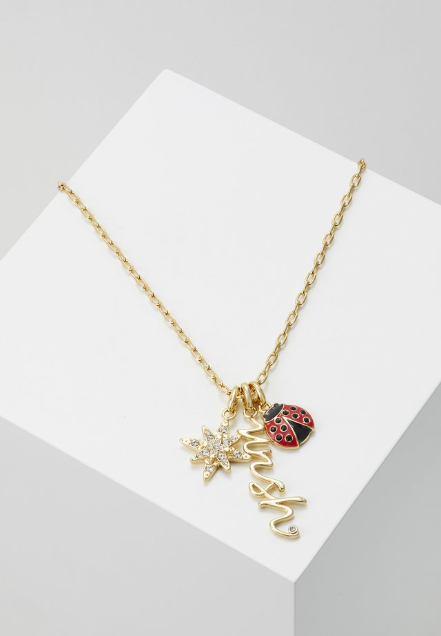 CHARMS NECKLACE WISH - Collier - gold-coloured