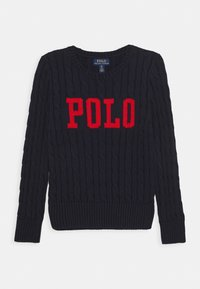 Polo Ralph Lauren - CABLE - Svetr - navy - 0