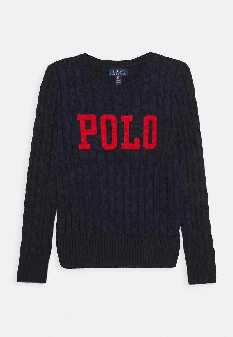 Polo Ralph Lauren - CABLE - Svetr - navy