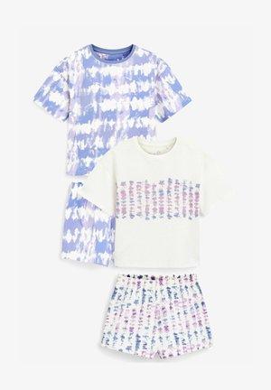 2 PACK - Pyjamas - purple