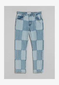 Bershka - 90'S HACK - Jeans relaxed fit - blue denim - 4