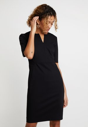 ZELLA DRESS - Shift dress - black