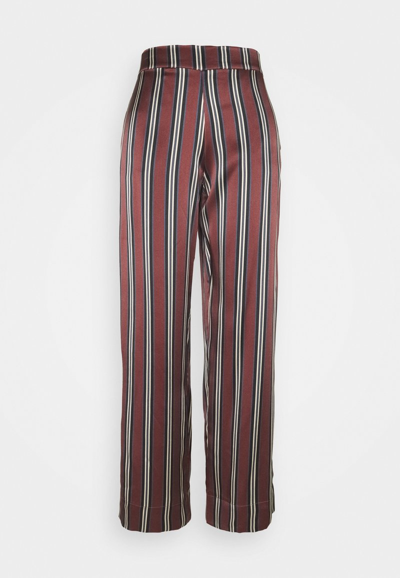 ASCENO - THE LONDON BOTTOM - Pyjama bottoms - burgundy