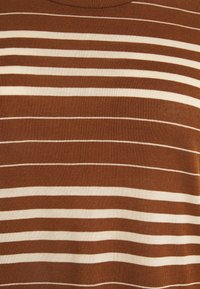 Esprit Collection - STRIPE TEE - Print T-shirt - toffee - 2