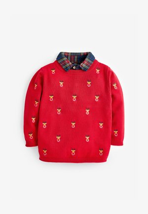 CHRISTMAS  - Jumper - red