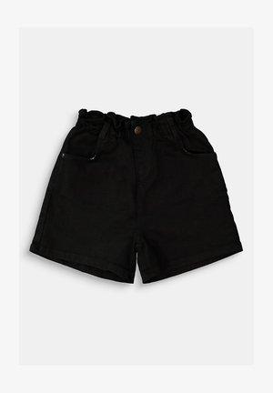 Jeansshort - black dark washed
