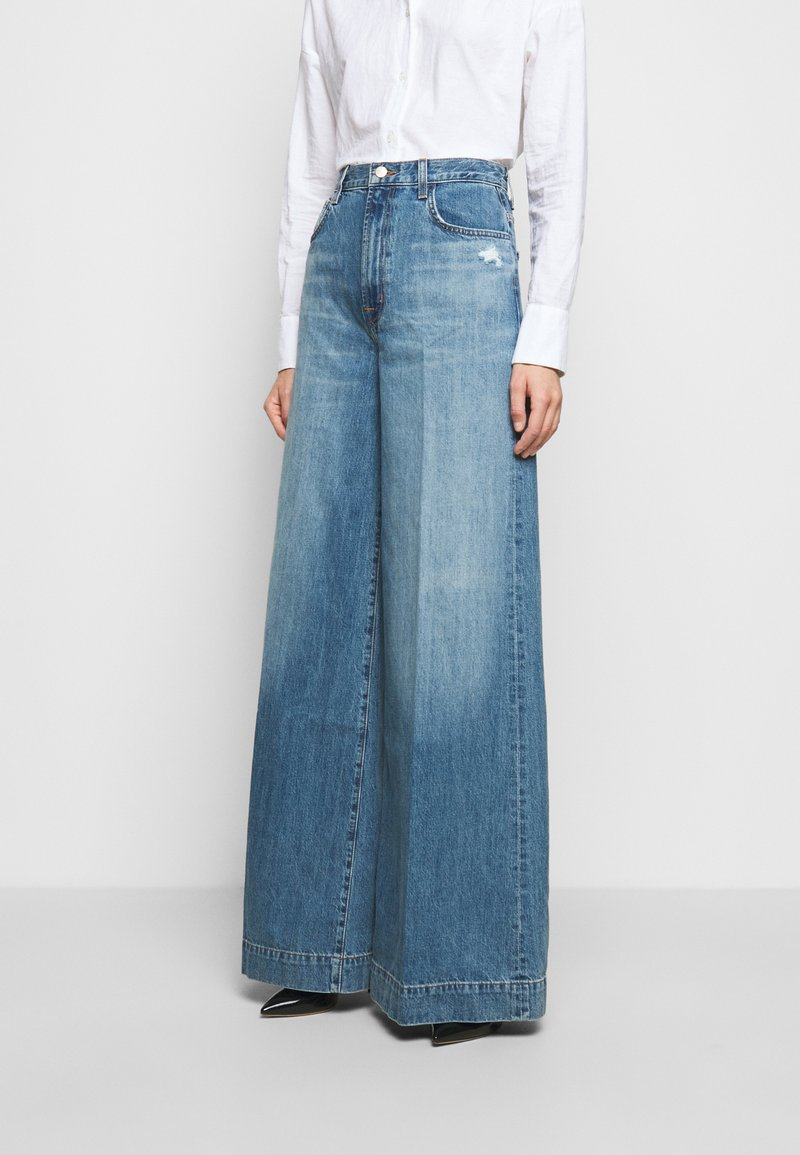 J Brand - THELMA HIGH RISE SUPER WIDE LEG - Relaxed fit jeans - senska raze