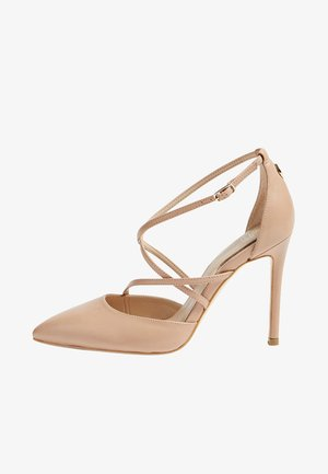 CLAUDIE - Zapatos altos - beige